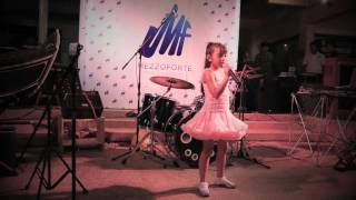 Can't Take My Eyes Off You - Gloria Gaynor [ Cover By Bella ] Mezzo Forte Music Academy