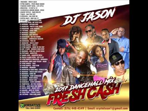 DANCEHALL MIX CLEAN 2017 MAY -MAVADO FRESH CASH,ISHAWNA EQUAL RIGHTS,VYBZ KARTEL,DJ JASON 8764484549