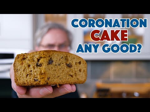 Depression Era Coronation Cake Recipe (Fixed Upload) || Glen & Friends Cooking