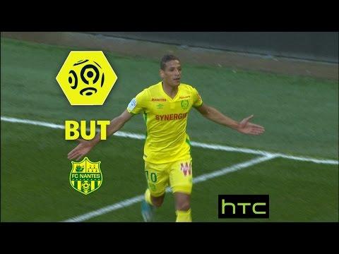 But Yacine BAMMOU (35') / SM Caen - FC Nantes (0-2) -  / 2016-17