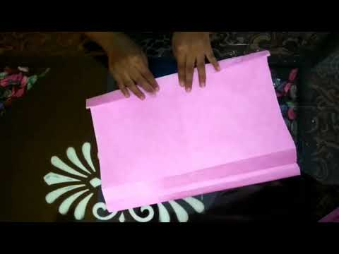 How to make paper bag🛍.......