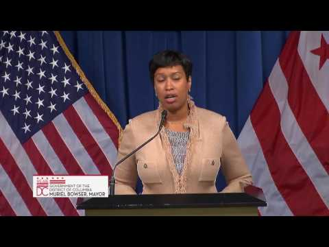 Press Conference on DC Statehood and Preservation of Affordable Housing, 11/9/16