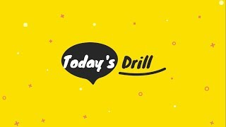 Today's Drill Tongue Twisters | School Activity | ILC Cebu