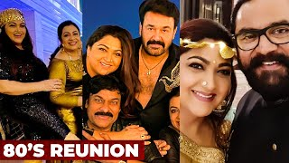 80's Reunion Party: Kushboo, Radhika, Sarathkumar, Naga Arjuna – Celebrities Celebration