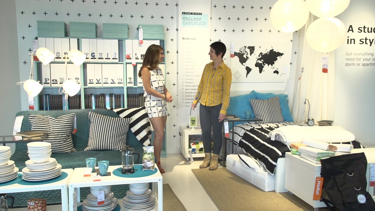 Design Dorm Room Ideas today with kandace furnishing your dorm room ikea dallas tx youtube