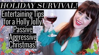 Easy Holiday Entertaining Tips for a Stress Free Christmas! Entertaining on a Budget!