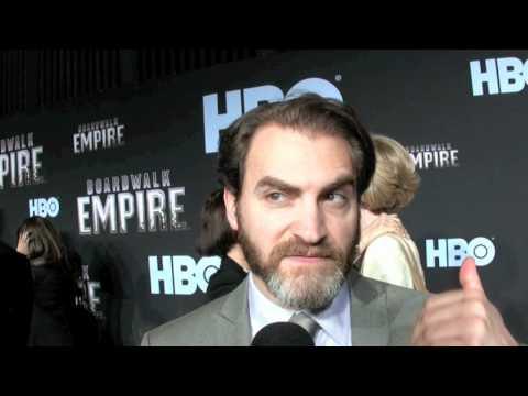Michael Stuhlbarg aka Arnold Rothstein of HBO's 'Boardwalk Empire'  at the premiere 09152010