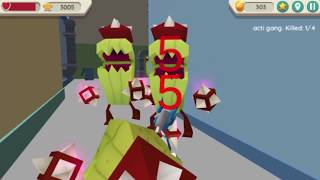 Robot Dog City Simulator Game Level 17-24 Walkthrough