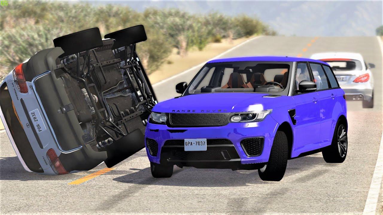 Extreme Crashes #166 - BeamNG Drive   CRASHdriven