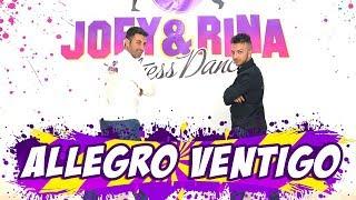ALLEGRO VENTIGO Coreografia Paolo Bardetta -Joey&Rina TUTORIAL Balli di Gruppo 2019 L ...