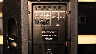Presonus Studiolive AI Speakers And Accessories Overview PreSonus StudioLive 328AI