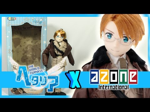 Hetalia: The World Twinkle Azone America Asterisk #8 Doll Unboxing/Review