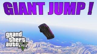GTA 5 - Pigalle MASSIVE JUMP ! +Gravité lunaire