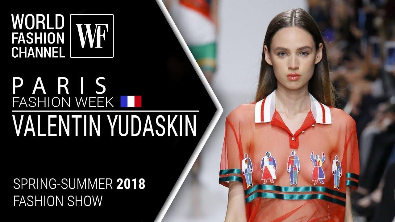 Valentin Yudashkin Весна/Лето 2019 Неделя Моды | показ мод девушек