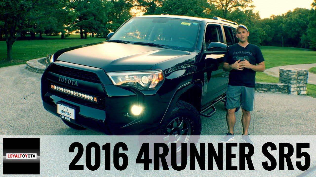 2016 Toyota 4Runner SR5 4x4 Custom LoyalDriven