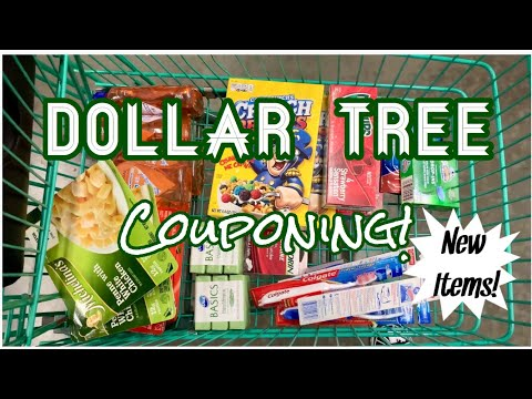 Dollar Tree Couponing | 22 Items For $9.50 | $.48 Each | NEW ITEMS! | Meek's Coupon Life