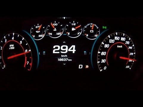 Chevrolet Camaro SS 1LE AT8 (Mk. VI  MY 2017) 0- 294 Kph On German Autobahn