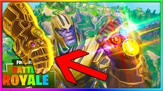 THANOS GAMEPLAY | NEW Fortnite Infinity Gauntlet Gamemode from Avengers Infinity War