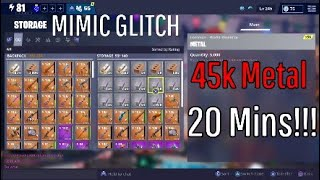 Mimic UNLIMITED Metal Glitch - Fortnite Save The World