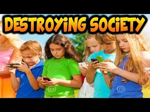 Phones Destroy Society?! Crazy Old People Talk!