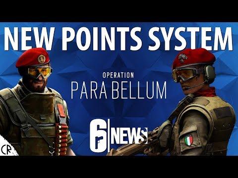 New Points System - Para Bellum - 6News - Tom Clancy's Rainbow Six Siege - R6