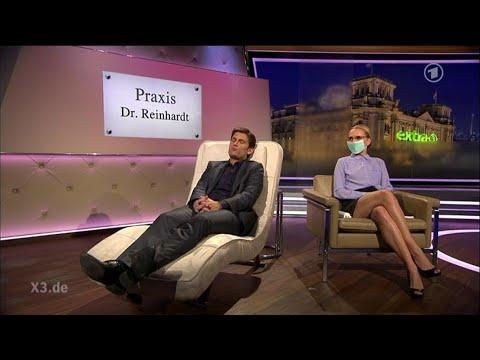 Janin Reinhardt: Therapeutin gegen Ebola-Angst | extra 3 | NDR