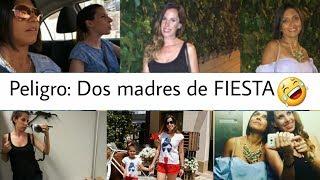 Dos MAMÁS de FIESTA  ¡Y PASÓ ESTO!