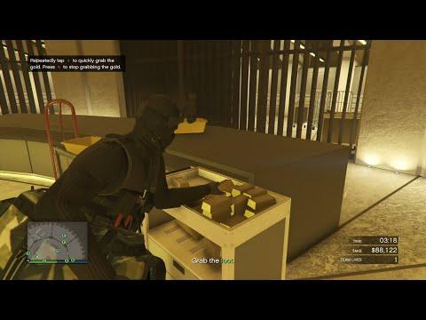 GTA 5 Online The Diamond Casino Heist- Stealth Finale Heist (GOLD Vault)