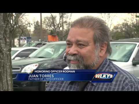 Public visitation held for fallen LMPD officer