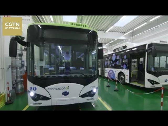 """В Венгрии, на родине """"Икарусов"""", началось производство китайский электробусов компании BYD [Age0+]"""