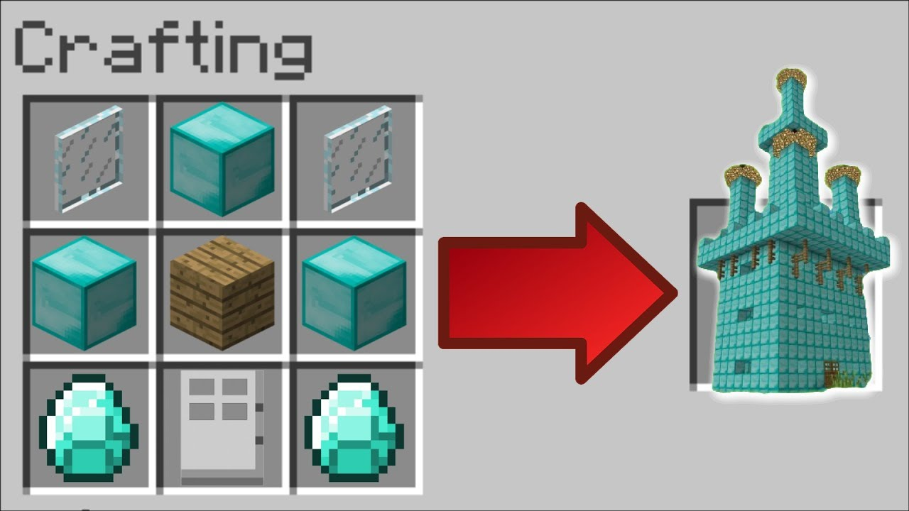 How To Instantly Make A Diamond House In Minecraft Minecraft - 64 best cookie diamond images roblox adventures minecraft