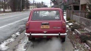Как зимуют машины СССР в Америке
