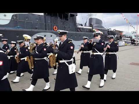 Polish Navy Marching