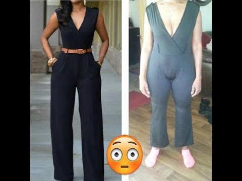 Online Shopping Fail - Expectation VS Reality