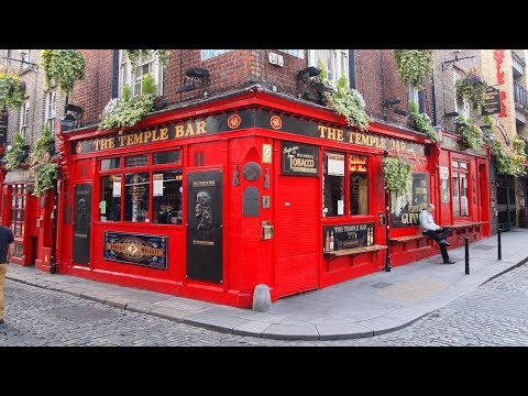 Exploring DUBLIN, IRELAND & Tour of the Guinness Brewery (Free Beer!)