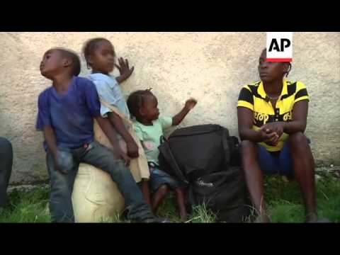 Haiti-Dominican Republic border after expulsion of at least 350 Haitians after ethnic unrest in bord