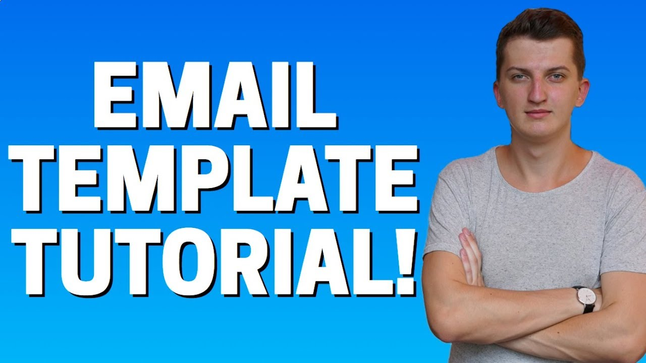 How To Create Email Template In SalesForce - YouTube