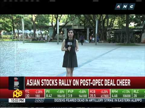 Business Nightly: Asian stocks rally on post-OPEC deal cheer