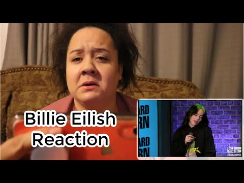 Billie Eilish Reaction -- Curly Cat