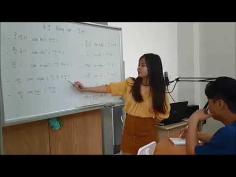 Dạy tiếng Hàn Quốc – Dạy tiếng việt cho người Hàn