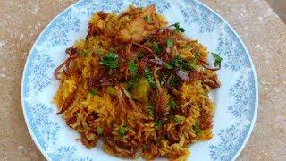 Aloo Pulao   Quick & Simple Rice Recipe   Potato Rice Recipe by khana academy
