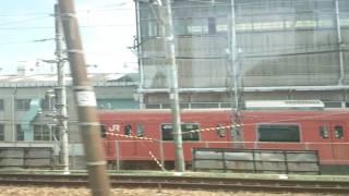 本線から見える吹田総合車両所の様子その20