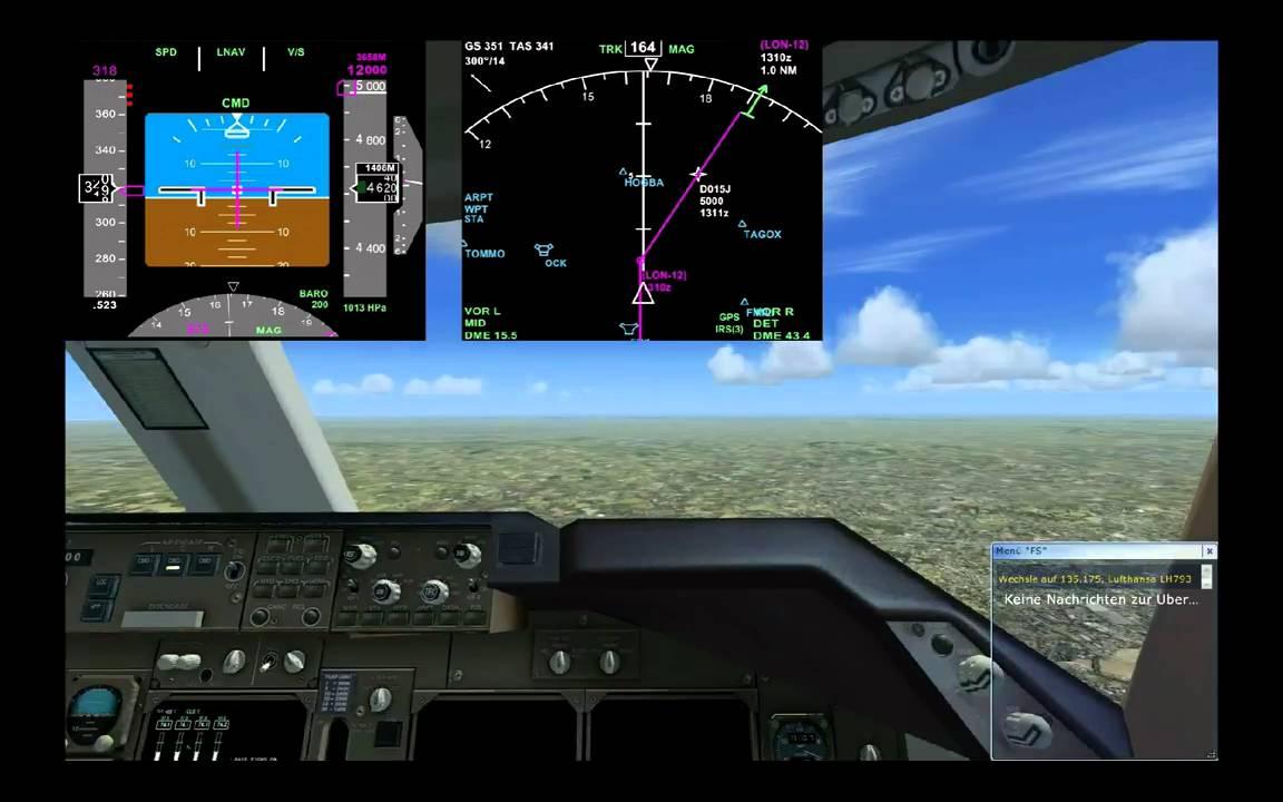 PMDG 747-400 Heathrow EGLL Take Off - YouTube
