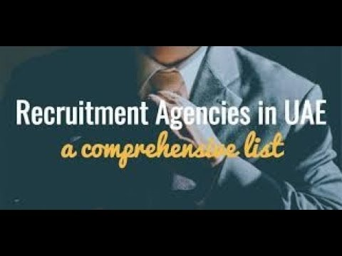 Top 100 Recruitment agencies in UAE and Dubai