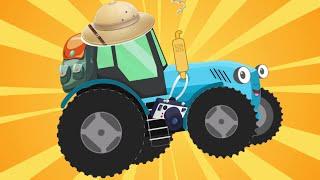 Синий трактор МЕГАСБОРНИК. Синий трактор ДЫР-ДЫР мультики и песенки для детей