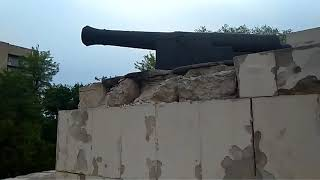 Памятник бойцам Крымский войны. Днепр