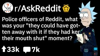 "Reddit Police: ""They Could Have Gotten Away With It, BUT.."" 🚨 (Funny Reddit Stories r/AskReddit)"