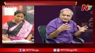 ఎయిర్ పోర్ట్లో అవమానాలు..? | Debate Over Chandrababu Frisking In Airport | NTV Live