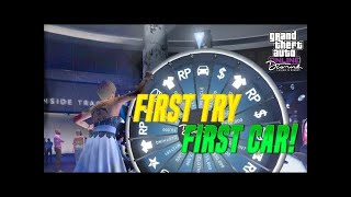 *SOLO* GTA 5 HOW TO WIN THE CAR ON THE LUCKY WHEEL EVERY TIME YOU SPIN GLITCH ( GTA 5 )