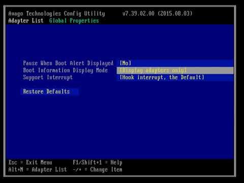Flashing 9207 LSI Card IT Mode | ServeTheHome and ServeThe Biz Forums